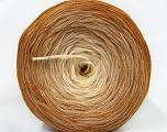 Fiber Content 50% Acrylic, 50% Cotton, Light Brown, Brand Ice Yarns, Cream, Cafe Latte, Yarn Thickness 2 Fine  Sport, Baby, fnt2-46160
