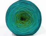Fiber Content 50% Acrylic, 50% Cotton, Turquoise, Teal, Brand ICE, Green, Yarn Thickness 2 Fine  Sport, Baby, fnt2-46163