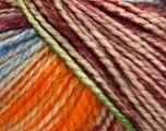 Fiber Content 75% Acrylic, 25% Wool, White, Orange, Maroon, Brand ICE, Green, Blue, Yarn Thickness 5 Bulky  Chunky, Craft, Rug, fnt2-46232