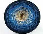 Fiber Content 50% Acrylic, 50% Cotton, Navy, Brand Ice Yarns, Blue, Beige, Yarn Thickness 2 Fine  Sport, Baby, fnt2-46425
