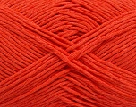 Please note that the yarn weight and the ball length may vary from one color to another for this yarn. Fiber Content 100% Cotton, Orange, Brand ICE, Yarn Thickness 3 Light  DK, Light, Worsted, fnt2-46493