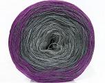 Fiber Content 50% Cotton, 50% Acrylic, Purple, Brand ICE, Grey Shades, Yarn Thickness 2 Fine  Sport, Baby, fnt2-46651