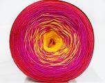 Fiber Content 50% Cotton, 50% Acrylic, Yellow, Red, Brand ICE, Fuchsia, Yarn Thickness 2 Fine  Sport, Baby, fnt2-46656