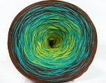 Fiber Content 50% Acrylic, 50% Cotton, Turquoise, Brand Ice Yarns, Green, Brown, Yarn Thickness 2 Fine  Sport, Baby, fnt2-46658