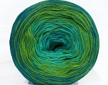 Fiber Content 50% Cotton, 50% Acrylic, Turquoise, Teal, Brand Ice Yarns, Green, Yarn Thickness 2 Fine  Sport, Baby, fnt2-46659