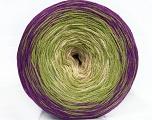 Fiber Content 50% Cotton, 50% Acrylic, Purple, Brand ICE, Green, Beige, Yarn Thickness 2 Fine  Sport, Baby, fnt2-46661