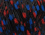 Fiber Content 100% Polyamide, Red, Brand Ice Yarns, Blue, Black, fnt2-46929