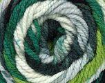 Fiber Content 100% Acrylic, White, Brand ICE, Grey, Green Shades, Black, Yarn Thickness 4 Medium  Worsted, Afghan, Aran, fnt2-46962
