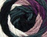 Fiber Content 100% Acrylic, White, Rose Pink, Maroon, Brand Ice Yarns, Grey Shades, Yarn Thickness 4 Medium  Worsted, Afghan, Aran, fnt2-46963