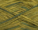 Fiber Content 50% Cotton, 50% Acrylic, Brand Ice Yarns, Green Shades, Yarn Thickness 3 Light  DK, Light, Worsted, fnt2-47098