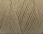Items made with this yarn are machine washable & dryable. Fiber Content 100% Dralon Acrylic, Brand ICE, Beige, Yarn Thickness 4 Medium  Worsted, Afghan, Aran, fnt2-47177