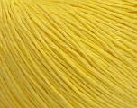 Fiber Content 100% Cotton, Yellow, Brand Ice Yarns, Yarn Thickness 1 SuperFine  Sock, Fingering, Baby, fnt2-47515