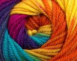 Fiber Content 100% Acrylic, Yellow, Turquoise, Purple, Orange, Brand ICE, Fuchsia, Yarn Thickness 5 Bulky  Chunky, Craft, Rug, fnt2-48093