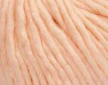 Fiber Content 50% Merino Wool, 25% Alpaca, 25% Acrylic, Light Salmon, Brand ICE, Yarn Thickness 6 SuperBulky  Bulky, Roving, fnt2-48176