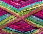 Fiber Content 100% Acrylic, Turquoise, Brand Ice Yarns, Green, Fuchsia, Brown, Yarn Thickness 4 Medium  Worsted, Afghan, Aran, fnt2-48282