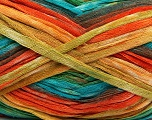 Fiber Content 100% Acrylic, Orange, Brand Ice Yarns, Green, Gold, Brown, Blue, Yarn Thickness 4 Medium  Worsted, Afghan, Aran, fnt2-48284