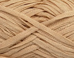 Fiber Content 78% Cotton, 22% Polyamide, Brand Ice Yarns, Beige, Yarn Thickness 5 Bulky  Chunky, Craft, Rug, fnt2-48384