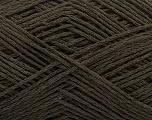 Fiber Content 65% Cotton, 35% Acrylic, Brand Ice Yarns, Brown, Yarn Thickness 2 Fine  Sport, Baby, fnt2-48473