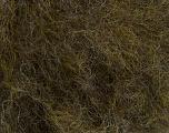 Fiber Content 40% Acrylic, 40% Wool, 20% Polyamide, Brand Ice Yarns, Dark Green Melange, fnt2-48819