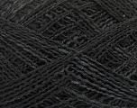 Fiber Content 50% Acrylic, 25% Polyester, 25% Alpaca, Brand Ice Yarns, Black, fnt2-48857