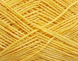 Fiber Content 80% Acrylic, 20% Polyamide, Yellow, Brand ICE, Yarn Thickness 2 Fine  Sport, Baby, fnt2-48893