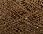 Fiber Content 40% Wool, 40% Acrylic, 20% Polyamide, Brand Ice Yarns, Brown, fnt2-48934