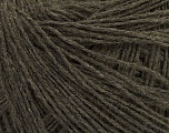 Fiber Content 80% Acrylic, 20% Viscose, Brand Ice Yarns, Dark Brown, fnt2-49057