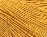 Fiber Content 100% Cotton, Brand Ice Yarns, Dark Yellow, Yarn Thickness 1 SuperFine  Sock, Fingering, Baby, fnt2-49122