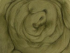 50gr-1.8m (1.76oz-1.97yards) 100% Wool felt Fiber Content 100% Wool, Yarn Thickness Other, Khaki, Brand ICE, acs-938