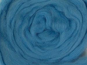50gr-1.8m (1.76oz-1.97yards) 100% Wool felt Fiber Content 100% Wool, Yarn Thickness Other, Light Blue, Brand ICE, acs-949