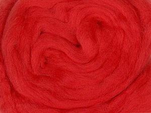 50gr-1.8m (1.76oz-1.97yards) 100% Wool felt Fiber Content 100% Wool, Yarn Thickness Other, Brand ICE, Dark Salmon, acs-962