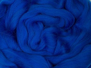 50gr-1.8m (1.76oz-1.97yards) 100% Wool felt Fiber Content 100% Wool, Yarn Thickness Other, Brand ICE, Blue, acs-982