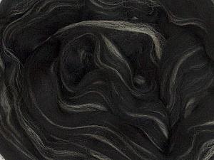 50gr-1.8m (1.76oz-1.97yards) 100% Wool felt Fiber Content 100% Wool, Yarn Thickness Other, Brand ICE, Cream, Black, acs-983