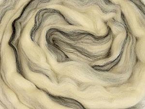 50gr-2m (1.76oz-2.18yards) 95%Wool, 5% Lurex Felt Fiber Content 95% Wool, 5% Lurex, White, Yarn Thickness Other, Brand ICE, Cream, Black, acs-987