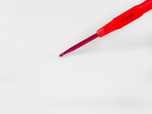 4 mm (G/6) Plastic Neck Crochet Hook. Length: 15 cm (6&). 4 mm (G/6) Brand ICE, acs-1135