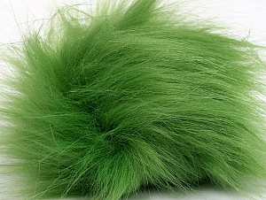 Diameter around 7cm (3&) Light Green, Brand Ice Yarns, acs-1175