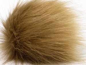 Diameter around 7cm (3&) Light Camel, Brand Ice Yarns, acs-1176