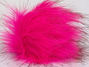 Diameter around 7cm (3&) Pink, Brand Ice Yarns, acs-1193