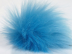 Diameter around 7cm (3&) Brand Ice Yarns, Blue, acs-1265