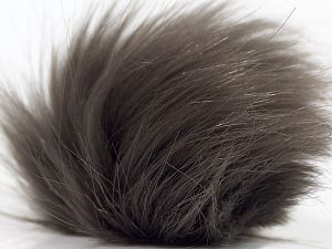 Diameter around 7cm (3&) Smoke Brown, Brand Ice Yarns, acs-1305