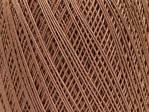Ne: 10/3 Nm: 17/3 Fiber Content 100% Mercerised Cotton, Brand ICE, Beige, Yarn Thickness 1 SuperFine  Sock, Fingering, Baby, fnt2-49528