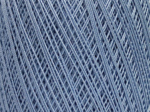 Ne: 10/3 Nm: 17/3 Fiber Content 100% Mercerised Cotton, Light Lilac, Brand ICE, Yarn Thickness 1 SuperFine  Sock, Fingering, Baby, fnt2-49533