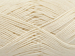 Ne: 8/4. Nm 14/4 Fiber Content 100% Mercerised Cotton, Brand ICE, Ecru, Yarn Thickness 2 Fine  Sport, Baby, fnt2-49603
