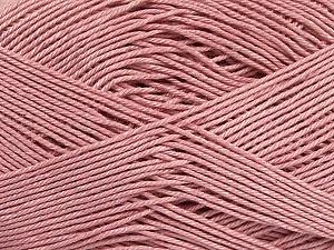Ne: 8/4. Nm 14/4 Fiber Content 100% Mercerised Cotton, Rose Pink, Brand ICE, Yarn Thickness 2 Fine  Sport, Baby, fnt2-49609