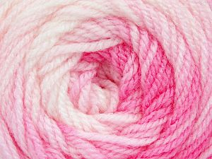 . Fiber Content 100% Baby Acrylic, White, Pink Shades, Brand ICE, Yarn Thickness 2 Fine  Sport, Baby, fnt2-49999