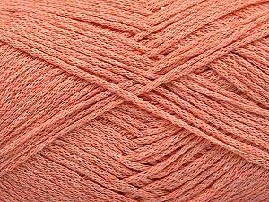Fiber Content 100% Cotton, Light Salmon, Brand Ice Yarns, Yarn Thickness 2 Fine  Sport, Baby, fnt2-50098