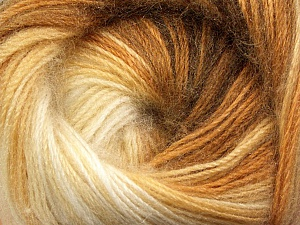 Fiber Content 60% Premium Acrylic, 20% Mohair, 20% Wool, Brand ICE, Cream, Camel, Brown, Yarn Thickness 2 Fine  Sport, Baby, fnt2-50295