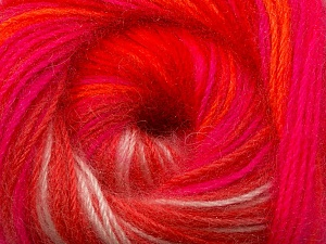 Fiber Content 60% Premium Acrylic, 20% Mohair, 20% Wool, Neon Colors, Brand ICE, Yarn Thickness 2 Fine  Sport, Baby, fnt2-50311