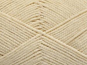 Fiber Content 100% Cotton, Brand ICE, Ecru, Yarn Thickness 2 Fine  Sport, Baby, fnt2-50586