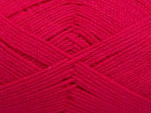 Fiber Content 100% Cotton, Brand ICE, Fuchsia, Yarn Thickness 2 Fine  Sport, Baby, fnt2-50590